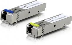 Ubiquiti Networks SFP Módulo Transceptor UF-SM-1G-S, 3km, 1250 Mbit/s - 2 Piezas