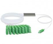 Ubiquiti Networks Cable Fibra Óptica SC/APC Macho - 32x SC/APC Macho, 50 Metros, Blanco