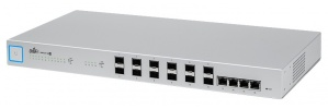 Switch Ubiquiti Networks Gigabit Ethernet UniFi, 4 Puertos 10/100/1000Mbps + 12 Puertos SFP+, 320 Gbit/s - Gestionado