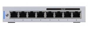 Switch Ubiquiti Networks Gigabit Ethernet UniFi Switch 8, 8 Puertos 10/100/1000Mbps, 16 Gbit/s - Gestionado