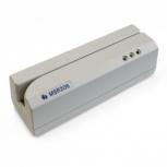 Unitech MSR206-33U Lector de Banda Magnética, USB/RS-232, Beige