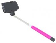 Urban Factory Selfie Stick Universal, 32.5cm, Rosa/Negro