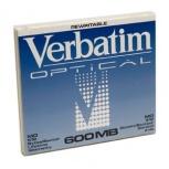Verbatim Disco Virgen Riscrivibile MO RW 600MB (87895)