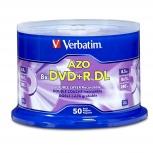 Verbatim Torre de Discos Virgenes para DVD, DVD+R, 8x, 50 Discos (97000)