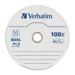 Verbatim Discos Virgenes para Blu-Ray, BDXL, 4x, 100GB, 25 Piezas