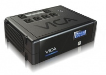 No Break con Regulador Vica Revolution 700, 400W, 700VA, Entrada 90-144V, Salida 108-132V