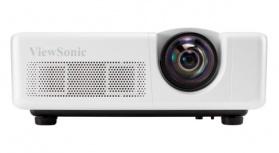 Proyector Interactivo Viewsonic LS625X DLP, XGA 1024 x 768, 3200 Lúmenes, Tiro Corto, 3D, con Bocinas, Blanco