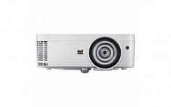 Proyector Viewsonic PS501W DLP, WXGA 1280 x 800, 3400 Lúmenes, Tiro Corto, 3D, con Bocinas, Blanco