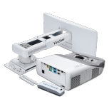 Proyector Interactivo Viewsonic PS750HD DLP, 1080p 1920 x 1080, 3300 Lúmenes, Tiro Corto, Blanco