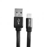 Vorago Cable CAB-213 USB Macho - Lightning Macho, 2 Metros, Negro