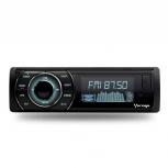Vorago Autoestéreo CAR-300, 45 W, Bluetooth/USB/AUX, Negro