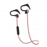 Vorago Audífonos Intrauriculares Deportivos con Micrófono ESB-301, Inalámbrico, Bluetooth, Rojo