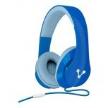 Vorago Audífonos HP-204, Alámbrico, 1.2 Metros, 3.5mm, Azul