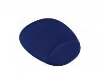 Mousepad Vorago con Descansa Muñecas de Gel, 17.5x22cm, Azul