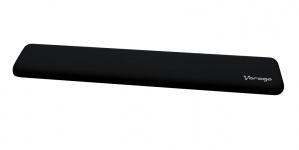 Vorago Descansa Muñecas PW-400, 46.5 x 7cm, Negro