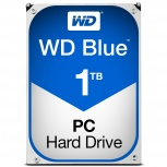 Disco Duro Interno Western Digital WD Blue 3.5'', 1TB, SATA III, 6 Gbit/s, 5400RPM, 64MB