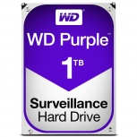 Disco Duro para Videovigilancia Western Digital WD Purple, 1TB, 6 Gbit/s, SATA, 64MB Cache
