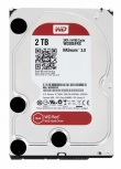 Disco Duro para NAS Western Digital WD Red 3.5'' de 1 a 8 Bahías, 2TB, SATA III, 6 Gbit/s, 64MB Cache