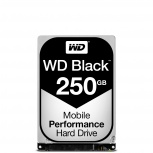 Disco Duro para Laptop Western Digital WD Scorpio Black 2.5'', 250GB, SATA, 6 Gbit/s, 7200RPM, 16MB Caché