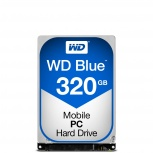 Disco Duro para Laptop Western Digital WD Blue 2.5'', 320GB, SATA III, 6 Gbit/s, 5400RPM, 8MB Caché