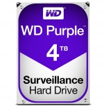 Disco Duro para Videovigilancia Western Digital WD Purple, 4TB, 6Gbit/s, SATA, 64MB Cache