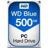 Disco Duro Interno Western Digital WD Blue 3.5'', 500GB, SATA III, 6 Gbit/s, 5400RPM, 64MB Cache