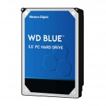 Disco Duro Interno Western Digital WD Blue 3.5'', 6TB, SATA III, 6 Gbit/s, 5400RPM, 64MB