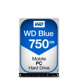 Disco Duro para Laptop Western Digital WD Scorpio Blue 2.5'', 750GB, SATA III, 6 Gbit/s, 5400RPM, 8MB Cache