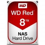 Disco Duro Interno Western Digital WD Red 3.5'', 8TB, SATA III, 6 Gbit/s, 5400RPM, 256MB Cache - para NAS de 1 a 8 Bahías