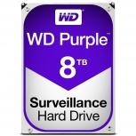 Disco Duro para Videovigilancia Western Digital WD Purple 3.5'', 8TB, SATA III, 6 Gbit/s, 128MB Cache - para DVR de 1 a 8 Bahías