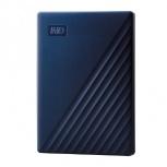 Disco Duro Externo Western Digital WD My Passport 2.5'', 4TB, USB 3.0, Azul - para Mac