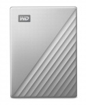 Disco Duro Externo Western Digital WD My Passport Ultra, 1TB, USB 3.0, Plata - para Mac/PC