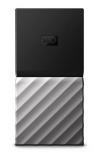 SSD Exterior Western Digital WD My Passport, 256GB, USB 3.2, Negro/Plata - para Mac/PC