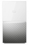 Western Digital WD My Cloud Home Dual Drive, 4TB, USB 3.0, Gris/Blanco - para Mac/PC/Windows/iOS