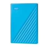 Disco Duro Externo Western Digital WD My Passport, 4TB, USB 3.2, Azul
