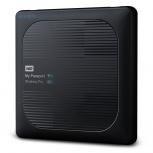 Disco Duro Externo Western Digital WD My Passport Wireless Pro, 4TB, USB 3.0 Type micro-B, Negro