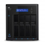 Western Digital WD My Cloud EX4100 NAS de 4 Bahías Hot Swap, 24TB (4x 6TB), USB 3.0, para Mac/PC ― Incluye Discos
