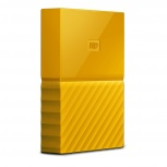 Disco Duro Externo Western Digital WD My Passport 2.5'', 4TB, USB 3.0, Amarillo