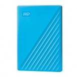 Disco Duro Externo Western Digital WD My Passport, 2TB, USB 3.2, Azul