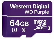 Memoria Flash Western Digital WD Purple, 64GB microSDXC, Clase 10