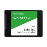 SSD Western Digital WD Green, 2TB, SATA III, 2.5