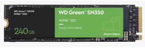 SSD Western Digital WD Green SN350 NVMe, 240GB, PCI Express 3.0, M.2