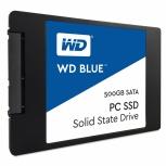 SSD Western Digital Blue, 500GB, SATA III, 2.5'', 7mm