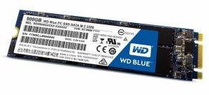 SSD Western Digital Blue, 500GB, M.2