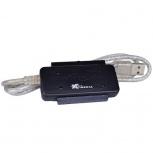 X-Media Adaptador USB 2.0 Macho - IDE/SATA Macho, Negro