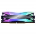 Memoria RAM XPG Spectrix D60G RGB Tungsten Grey DDR4, 3200MHz, 8GB, Non-ECC, CL16, XMP