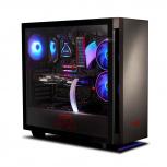 Gabinete XPG INVADER con Ventana, Midi-Tower, ATX/Micro-ATX/Mini-ITX, USB 3.2, sin Fuente, Negro