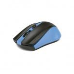 Mouse Xtech Óptico Galos, RF Inalámbrico, 1600DPI, Negro/Azul