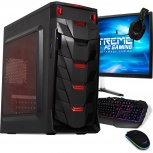Computadora Gamer Xtreme PC Gaming CM-50130, Ryzen 3 3200G 3.50GHz, 8GB, 1TB, Radeon Vega 8, FreeDOS - incluye Monitor/Teclado/Mouse