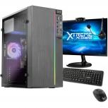 Computadora Gamer Xtreme PC Gaming CM-78052, AMD A6 9500 3.50GHz, 8GB, 1TB, WiFi, Windows 10 Prueba — incluye Monitor de 21.5